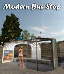AJ Modern Bus Stop