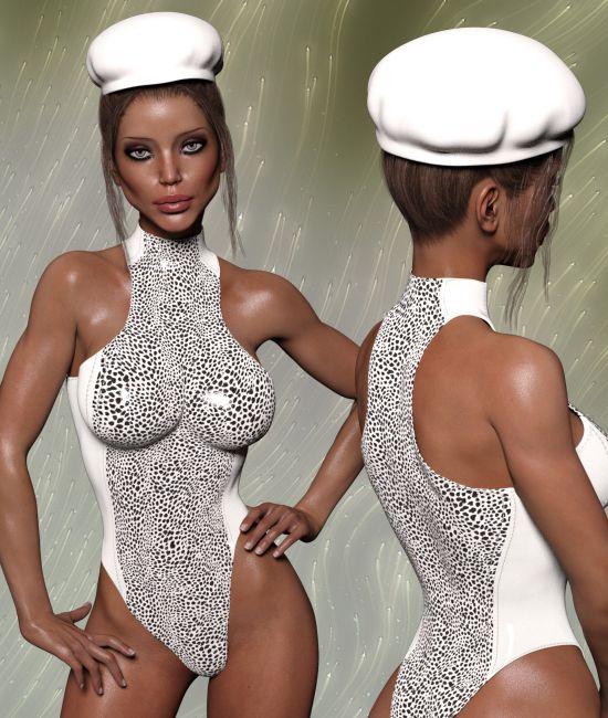 InStyle - X-Fashion Command Bodysuit for Genesis 3 Females ... e2d817fb7