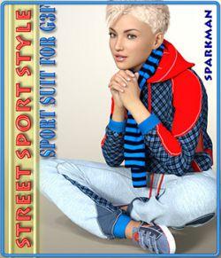 Street Sport Style: Sports Suit for Genesis 3 Female(s)