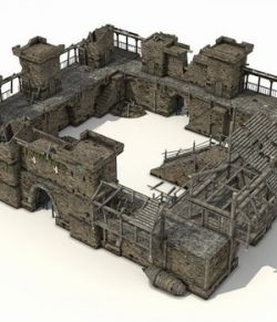 Castle Ruins- Extended License