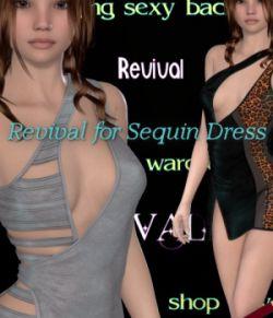 Revival for Sequin Dress