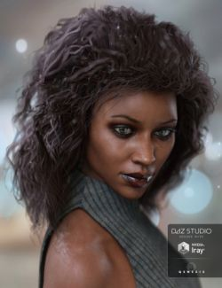 Heart Breaker Hair for Genesis 3 Female(s)