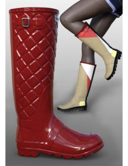Rain Boots for Genesis 2 and 3 Female(s)