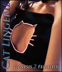 CatLingerie for Genesis 2 Females