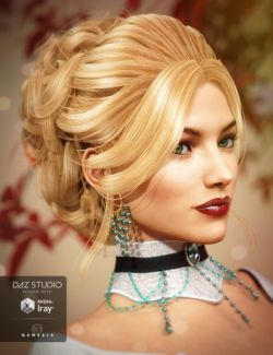 Aliza Hair for Genesis 3 Female(s)