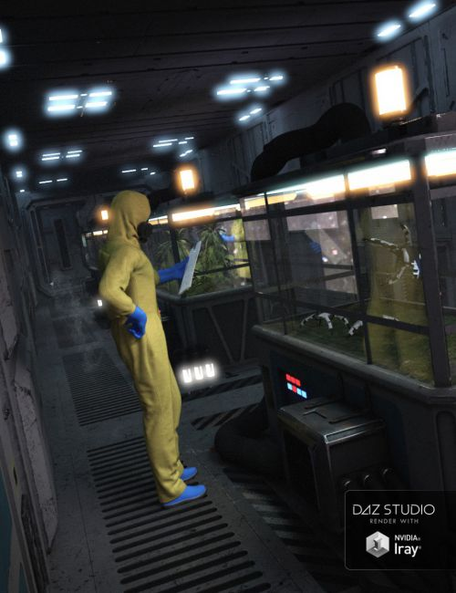 Sci-fi Interior Construction Kit