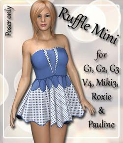 Ruffle Dress for 7 Women