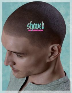 Shaved Hair for Genesis 3 Male(s)