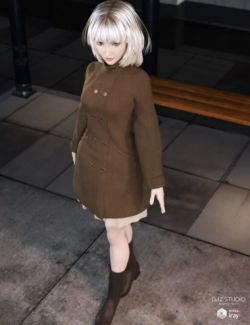 A-Line Style Outfit for Genesis 3 Female(s)