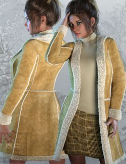 Shearling Outfit for Genesis 3 Female(s)
