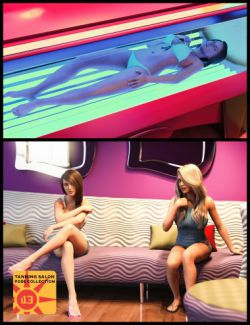 i13 Tanning Salon Poses for Genesis 3 Female and Male
