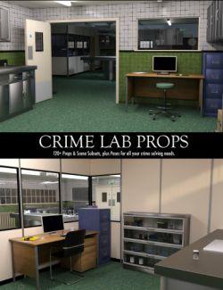 Crime Lab Props