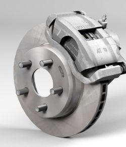 Car disk brake - Extended License