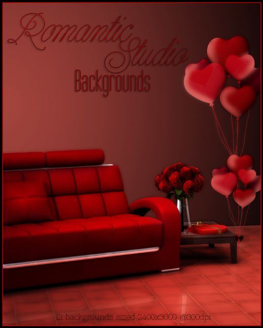 FS Romantic Studio Backgrounds