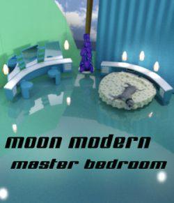 Moon Modern Master Bedroom