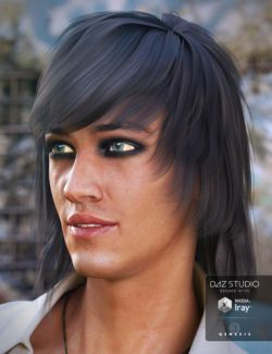 Brendan Hair for Genesis 3 Male(s)