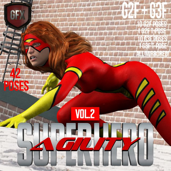 SuperHero Agility for G2F & G3F Volume 2
