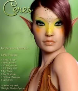 Ceres For Genesis 3