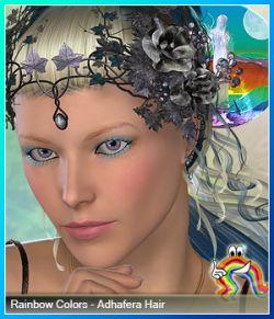 Rainbow Colors - Adhafera Hair