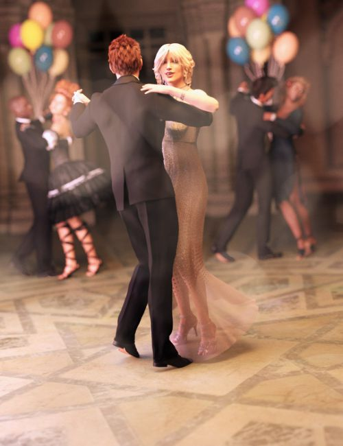 FeralFey's Ballroom Dance Poses for Genesis 3 Male and Female