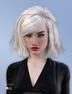 Leora Hair for Genesis 3 Female(s)
