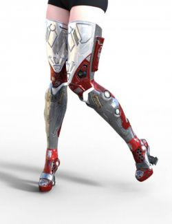 Classic Sci-fi Boots for Genesis 3 Female(s)