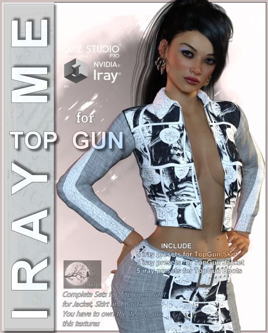 Iray Me: Top Gun - Outfit