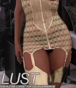 LUST - Pletaix Corset for G3 females