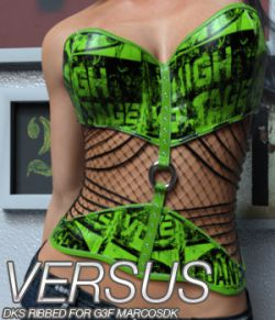 VERSUS - DKS Ribbed for Genesis 3 Female