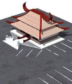Chinese Restaurant (for DAZ Studio)