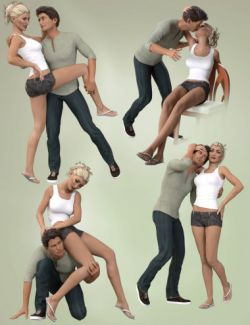 Naughty Girl Poses and Expressions for Victoria 7 and Michael 7