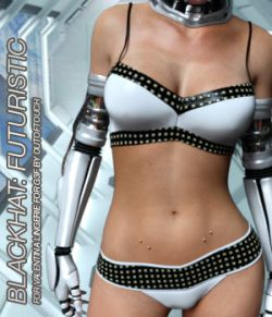 BLACKHAT:FUTURISTIC - Valentina Lingerie for Genesis 3 Female(s)