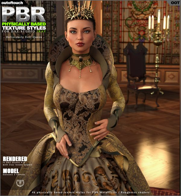 OOT PBR Texture Styles for Deliciously Evil Queen