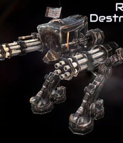 Robot Destroyer- Extended License