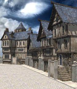 Medieval Street (for Poser)