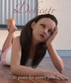 Delicate - Poses for Tween Julie 7