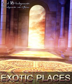 Exotic Places- 2D backgrounds