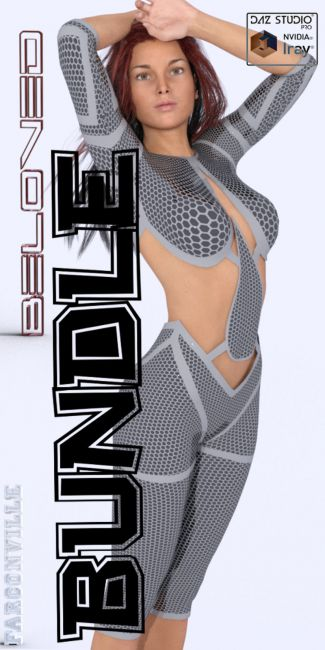 Beloved Outfit Bundle for Genesis, V5, M5, Genesis 2, V6, M6, Genesis 3, V7, M7