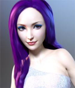 Pop Glam Hair for Genesis 3 Female(s)