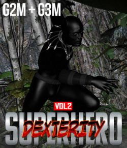SuperHero Dexterity for G2M & G3M Volume 2