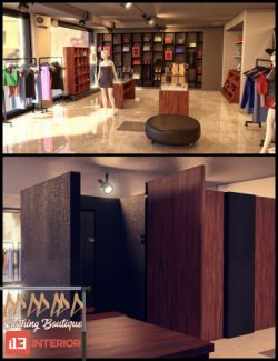 i13 Clothing Boutique Interior