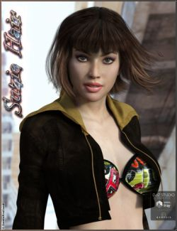 Suzie Hair for Genesis 3 Female(s)