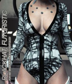 BLACKHAT:FUTURISTIC - Net Body for Genesis 3 Female(s)