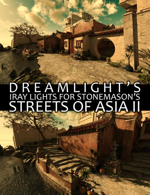 DS Iray Lights for Streets of Asia 2
