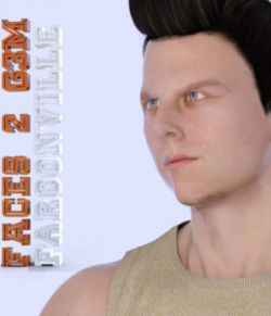 Faces 2 for Genesis 3 Male and Michael 7