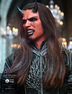 Wezor Hair for Genesis 3 Male(s)