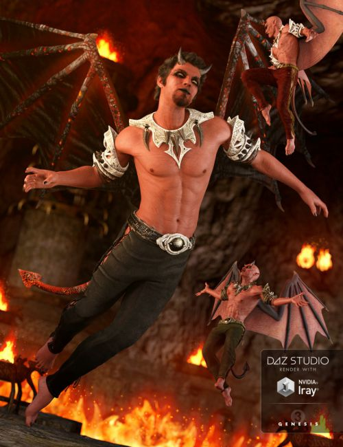 Daemon Outfit for Genesis 3 Male(s)