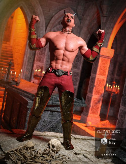 Hellion Outfit for Genesis 3 Male(s)