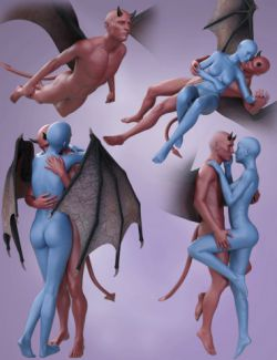 Fantasy Poses for Damien Devil and Victoria 7