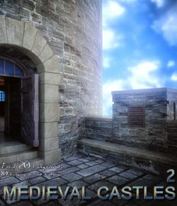 Medieval Castles 2- 2D backgrounds